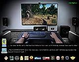 Couchmaster® CYCON Wildleder-Look schwarz – Die Couch Gaming Auflage für Maus & Tastatur (für PC / PS4 / Xbox One) - 5