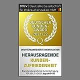 Retro Arbeitsplatzlampe Leselampe Schreibtischlampe Arbeitsplatz-leuchte Schreibtisch-Leuchte mit Gelenk-Arm aus Metall inkl. LED Glühbirne - 4