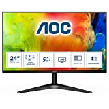 AOC 24B1H 59,9 cm (23.6 Zoll) Monitor (VGA, HDMI, MVA Panel, 1920 x 1080 Pixel, 60 Hz) schwarz