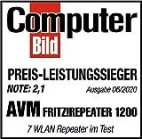 AVM FRITZ!WLAN Mesh Repeater 1200 (Zwei Funkeinheiten: 5 GHz (bis zu 866 MBit/s), 2,4 GHz (bis zu 400 MBit/s), 1x Gigabit-LAN, deutschsprachige Version) - 6