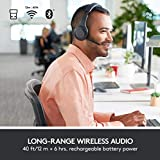 Logitech H800 Kabelloses Bluetooth Headset, Hi-Definition Stereo-Kopfhörer mit Noise-Cancelling Mikrofon, Bluetooth und Nano USB-Empfänger, Multi-Device, Lange Akkulaufzeit, PC/Mac/Tablet/Mobilgeräte - 3