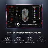 Holife Gaming Maus, 7200 DPI PC Maus mit RGB Beleuchtung/ 8 Programmierbaren Tasten/Feuer Tasten Optischer Sensor Wired Gaming Maus für pro Gamer (Schwarz) - 5