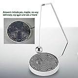 Hilitand Magnetische entscheidungsträger Ball schaukel pendel Schreibtisch Dekoration Spielzeug Geschenk, perfekte unschlüssige momente(#01) - 8