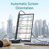 Asus ZenScreen MB16AC 39,6 cm (15,6 Zoll) tragbarer USB Monitor (Full HD, USB Typ-C, IPS-Panel, Blaulichtfilter) dunkel-grau - 4