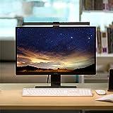 BenQ ScreenBar LED-Monitor-Lampe Schreibtischlampe bildschirmlampe mit Auto-Dimmen und Farbton-Anpassungsfunktionen, Augenpflege, Kein Bildschirm Blendung oder Flimmern, USB aufladen Büro Lampe - 4