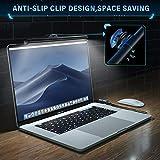 GlobaLink Screen Schreibtischlampen E-Reading Lampe Computer Monitor Lampe Dimmbar, Augenpflege, USB aufladen, Einstellbare Helligkeit und Farbtemperatur Arbeitslampe Schwarz - 6