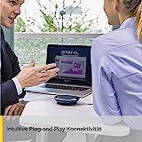 Jabra Speak 410 UC mobile USB-Konferenzlösung für Softphones/UCC, Meetings mit bis zu 4 Personen in Sekunden starten, Plug-and-play - 4