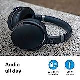 Kabelloser Sennheiser HD 450SE-Kopfhörer mit Sprachassistenten-Integration, Bluetooth 5.0 und aktiver Geräuschunterdrückung - 4
