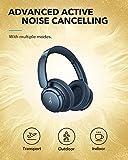 Anker Soundcore Life Q35 kabellose Kopfhörer Multi-Modus Geräuschunterdrückung, Over-Ear Bluetooth Kopfhörer, LDAC Hi-Res Audio, 40h Akku, Weiche Ohrpolster, Ideal für Homeoffice, Reisen (Blau) - 4