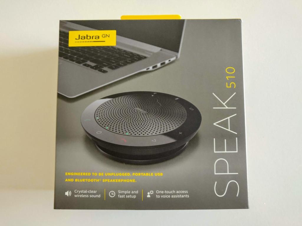 Jabra Speak 510 - Karton front